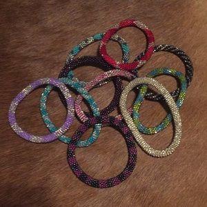 Nepal bracelets